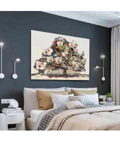 Obraz na płótnie Obrazy na ścianę tanie Drzewo przyjaźni (1-częściowy) szeroki