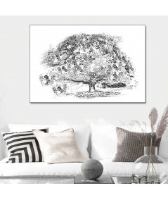 Obraz Drzewo marzeń (1-częściowy) szeroki