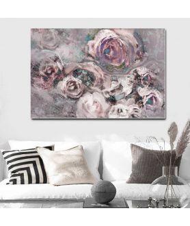 Obraz na płótnie Obraz z różami Różany ogród