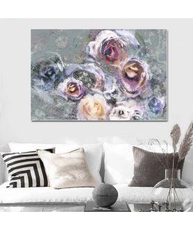 obrazy kwiaty Obraz nowoczesny z różami Prowansalskie róże
