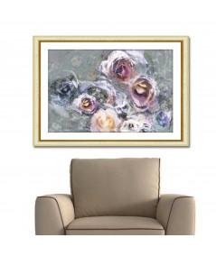 Obraz na płótnie Obraz nowoczesny z różami Prowansalskie róże
