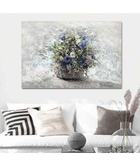 Obraz na płótnie Kwiaty polne obraz na płótnie Kwiaty polne w koszu