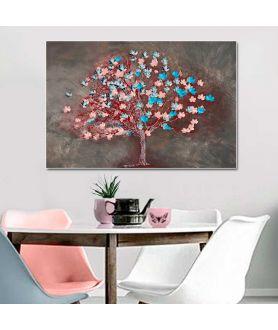 Obraz canvas nowoczesny Drzewo słodyczy (1-częściowy) szeroki