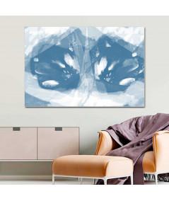Obraz na płótnie Lustrzane obrazy na ścianę Nowoczesny tulipan