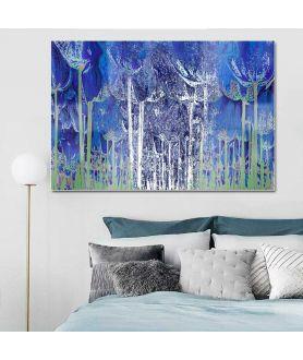 Oryginalne obrazy na ścianę Granatowy las