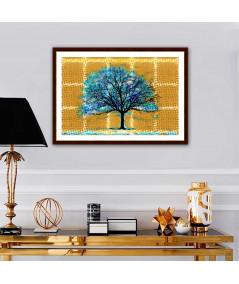 Obraz na płótnie Wielki obraz na ścianę Drzewo w stylu boho