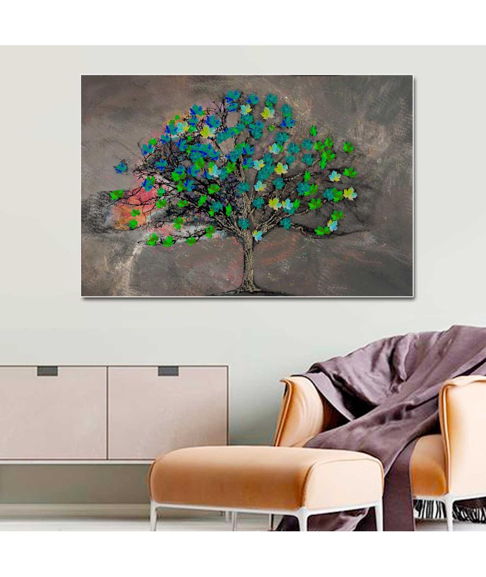 Obraz na ścianę Drzewo wiosennej namiętności