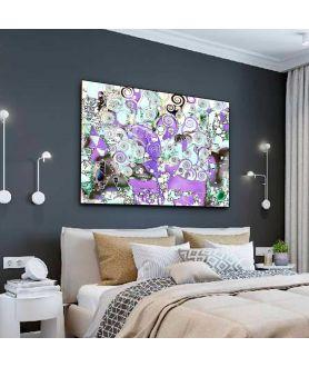 Obraz na płótnie Obraz Drzewo Życia abstrakcja (1-częściowy) szeroki