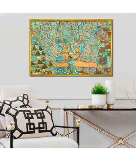 Obraz dekoracyjny Drzewo Życia i sztuki