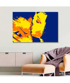 Obraz na płótnie Obraz nowoczesny, plakat nowoczesny Całus