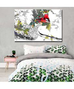 Obrazy pocałunek - Grafika do sypialni Miłość przychodzi jesienią