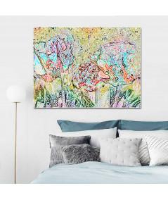 Grafika obraz do sypialni Jesienne drzewa (1-częściowy) szeroki