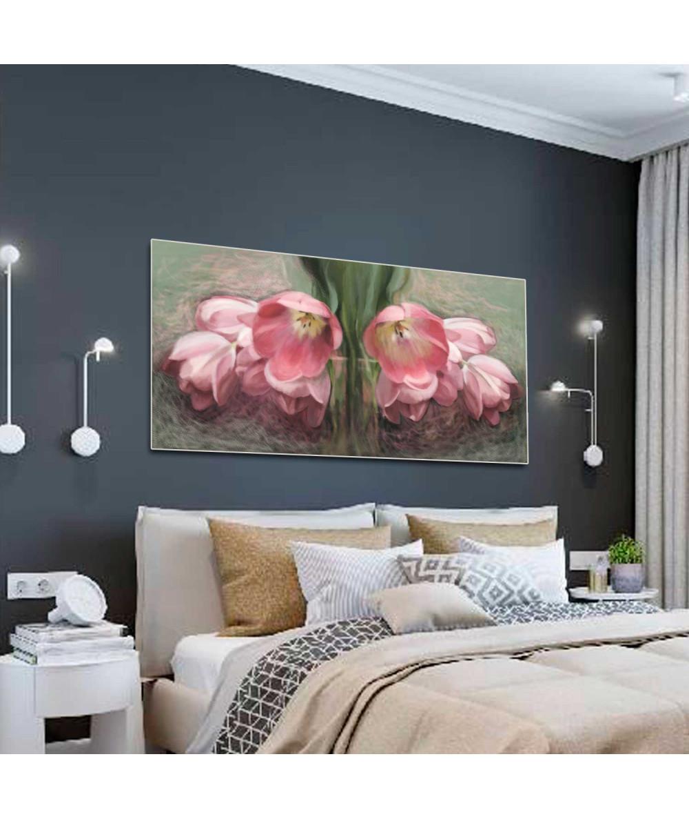 Kwiaty w malarstwie renaty bułkszas nowak Tulipany czerwone