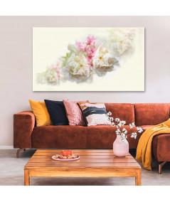 Obrazy kwiaty - Obrazy akwarele nowoczesne Akwarela piwonie