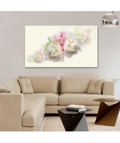 Obraz na płótnie Obraz Akwarela piwonie, obrazy z kwiatami