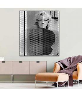 Obraz na płótnie Modny obraz grafika Marilyn Monroe (1-częściowy) pionowy
