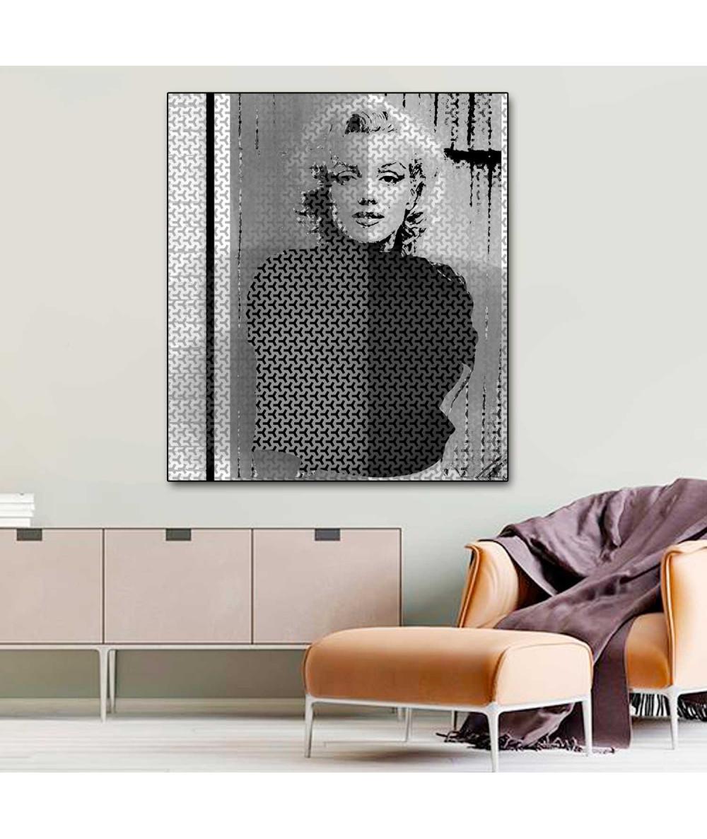 Modny obraz grafika Marilyn Monroe (1-częściowy) pionowy