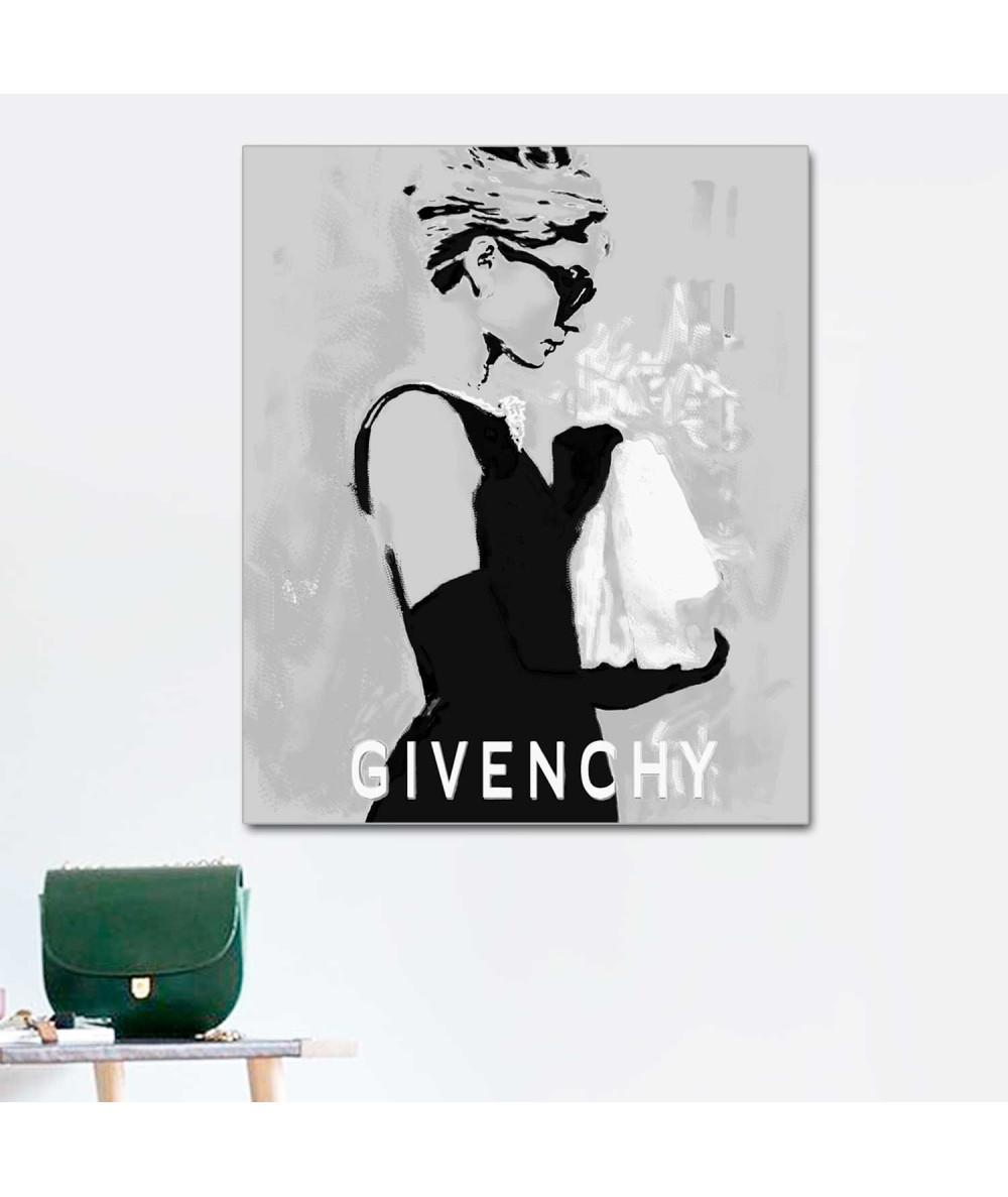 Obraz fashion Suknia Givenchy, obraz z Audrey Hepburn