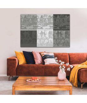 Obraz na płótnie Grafika, minimalistyczne grafiki obrazy na ścianę