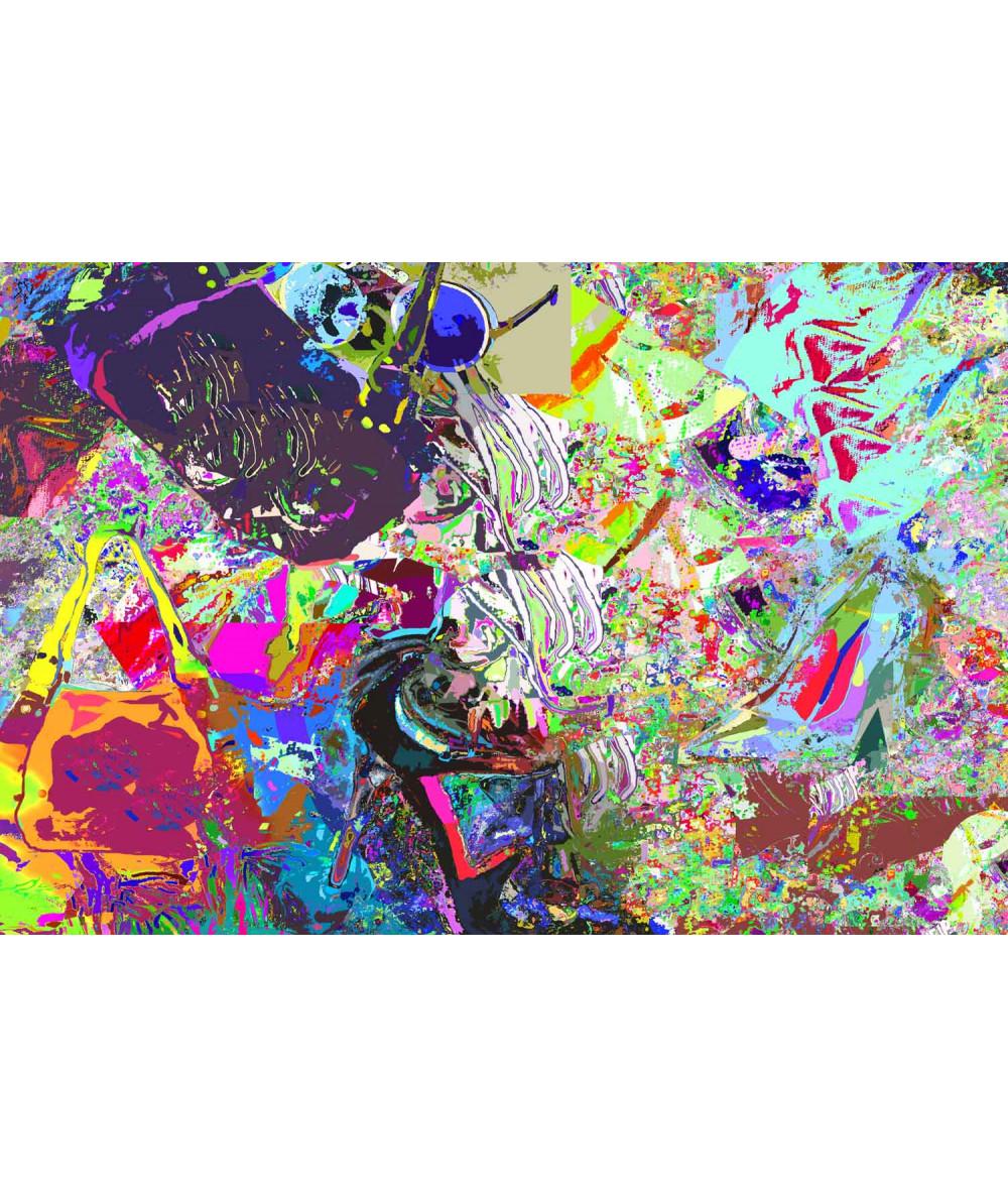 Obraz na płótnie Obraz Collage modowy, nowoczesne obrazy na ścianę