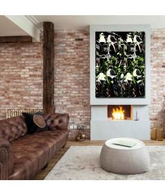 Obraz na płótnie Czarny obraz na płótnie Fajne buty, obraz nowoczesny