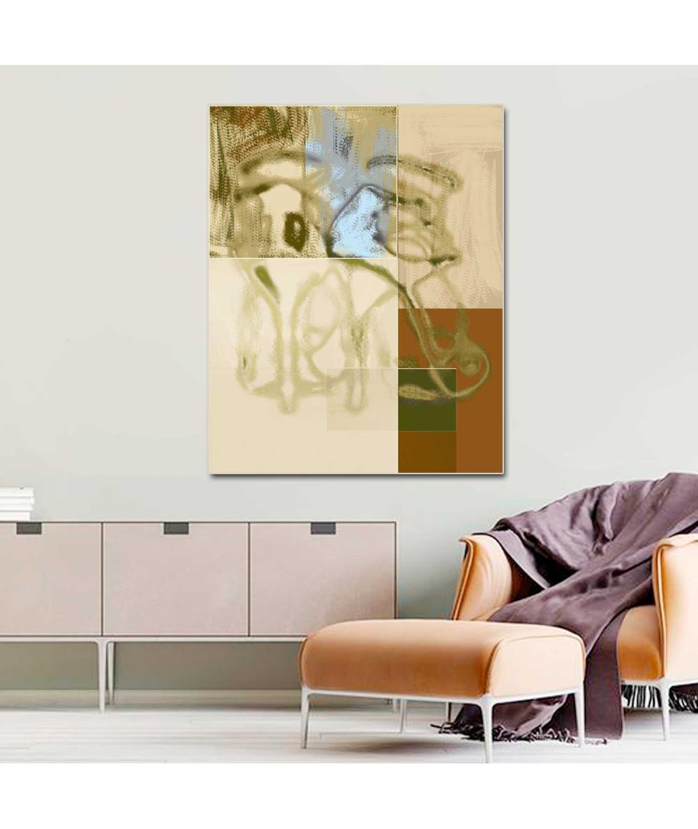 Obraz na płótnie pionowy Design w kolorze