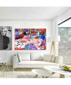 Modne obrazy na ścianę do salonu Fatałaszki