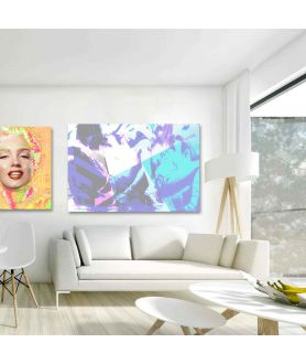 Obrazy kobieta - Obrazy grafiki modowe na płótnie Dziewczyny