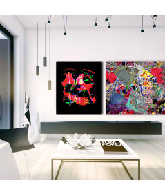 Obraz na płótnie Obraz nowoczesny Czerwone szpilki (1-częściowy) pionowy