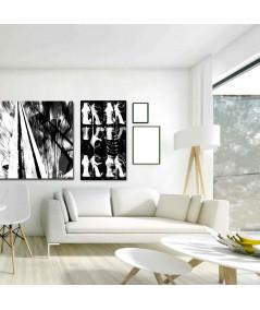Obraz na płótnie Obraz nowoczesny Białe buty (1-częściowy) pionowy