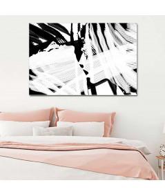 Obraz grafika nowoczesna Czarno biała miłość