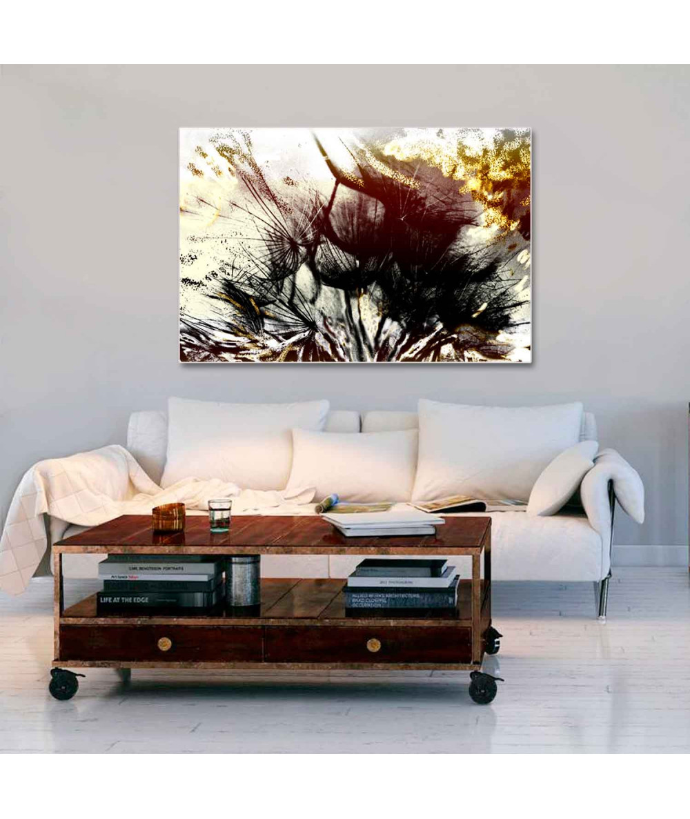 Obraz Dmuchawce w słońcu (1- częściowy) szeroki