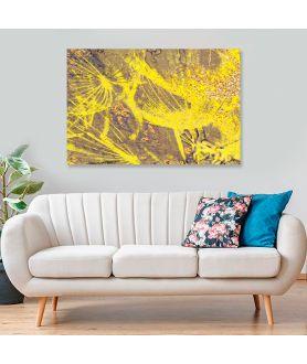 Obraz Słoneczne dmuchawce (1-częściowy) szeroki
