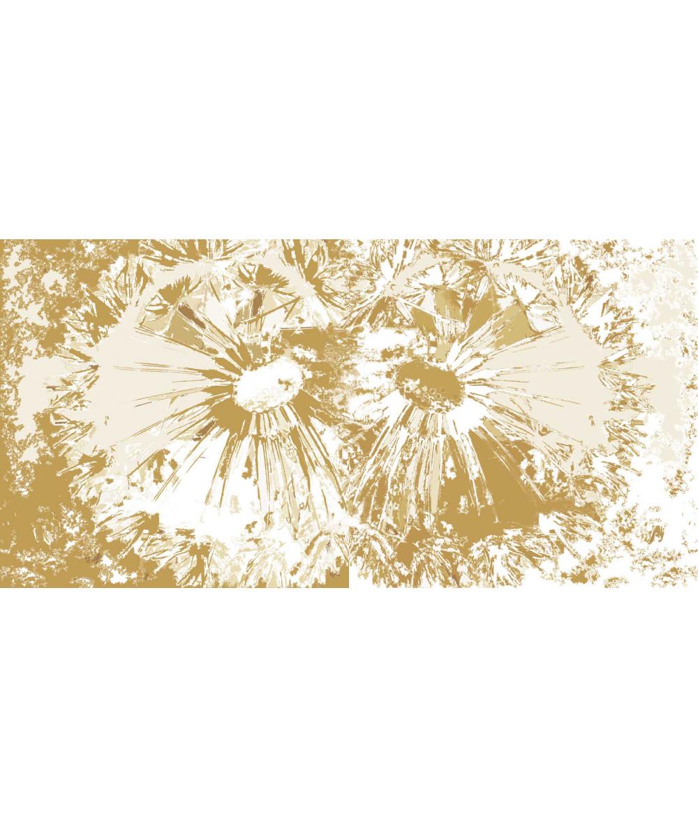 Obraz na płótnie Obraz Kwiaty dmuchawców (2-częściowy) szeroki