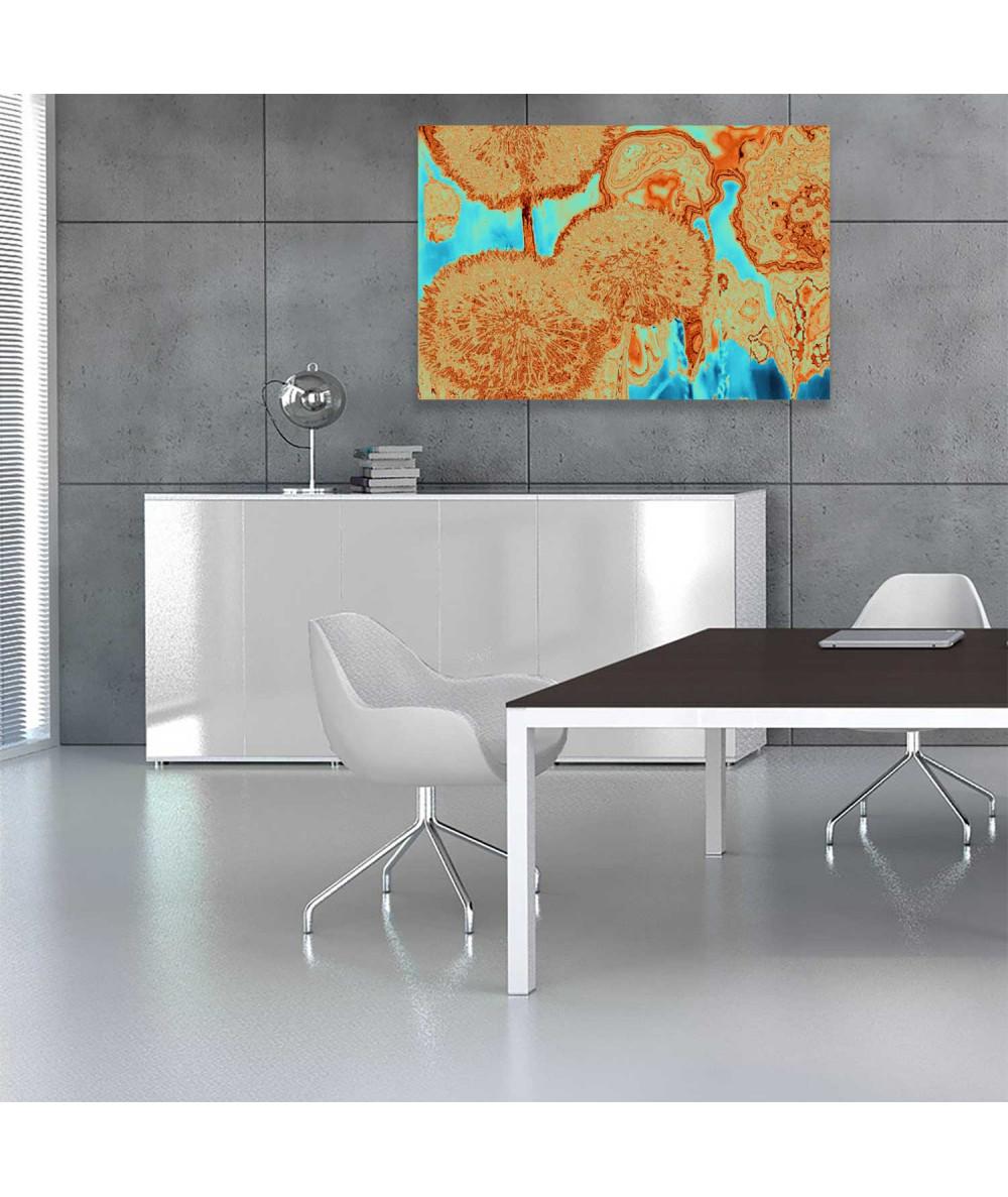 Obrazy dmuchawce - Obraz na ścianę Mniszki (1-częściowy) szeroki