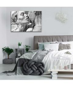 Obraz miłosny Miłość wersja czarno biała