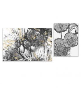 Zestaw obrazów Dmuchawce i kule (2-częściowy)