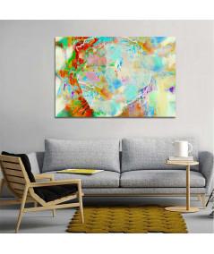 Obraz abstrakcyjny z dmuchawcem Jeden dmuch (1-częsciowy) szeroki