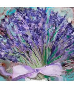 obrazy kwiaty Obraz Lawenda dla Moneta (1-częściowy) szeroki