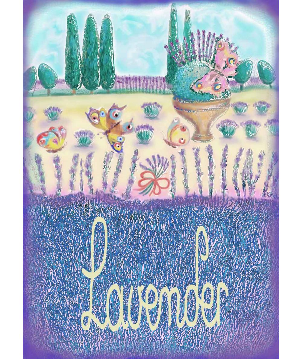 Obrazek do kuchni Lavender,...