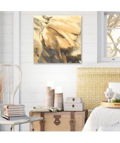 Obraz Złoty tulipan w kwadracie (1-częściowy) kwadratowy