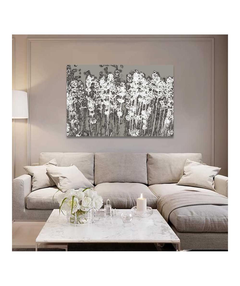 obrazy kwiaty Nowoczesny obraz na ścianę Lawenda w beżach