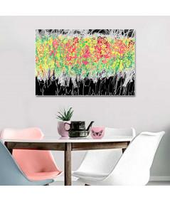 obrazy kwiaty Obraz grafika z motywem lawendy Prosta lawenda