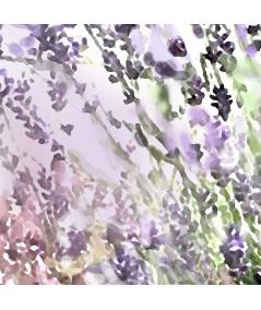obrazy kwiaty Obraz akwarela na płótnie Lawenda i macierzanka