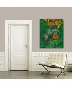 Obraz do salonu Róże dla Paula Gauguina (pionowy)