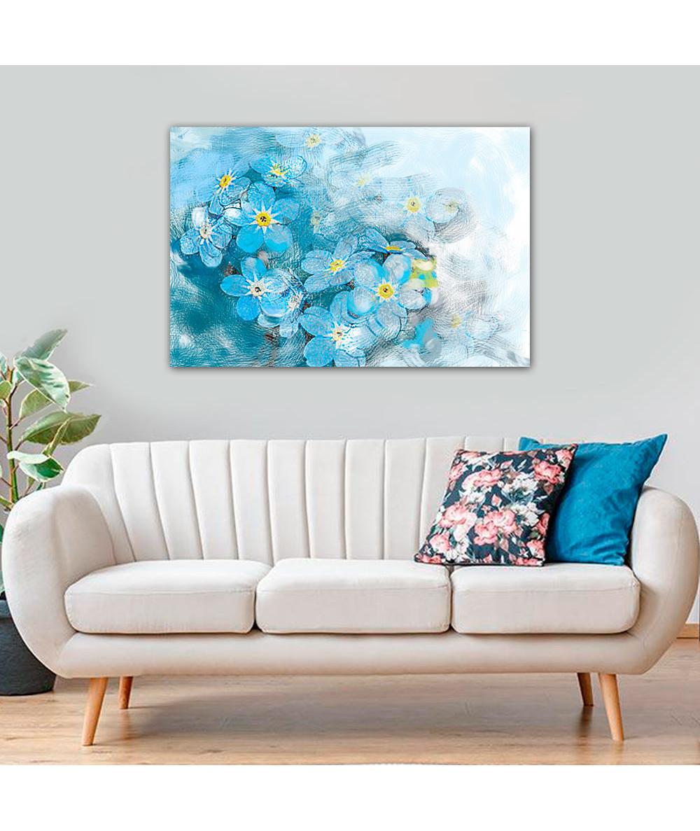 Obraz niebieski Wiosenne...