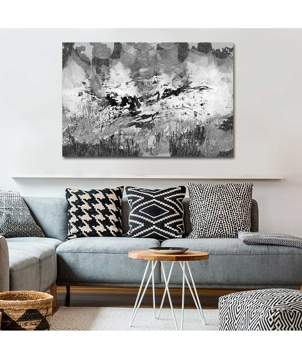 Grafika ptaki Żurawie przeznaczenia czarno-białe