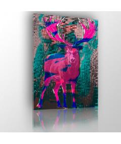 Obraz nowoczesny do salonu Jeleń art