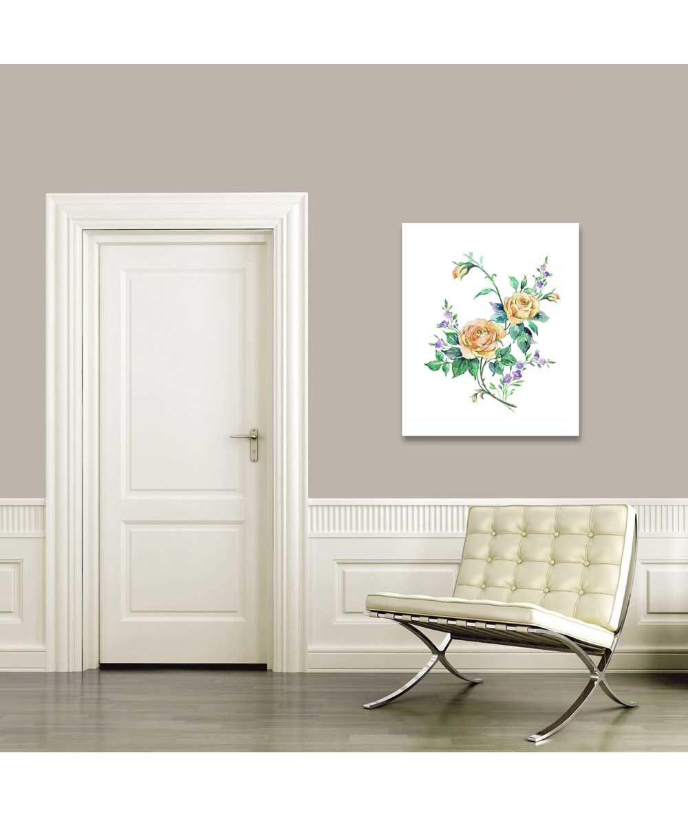 Obrazki róże na białym tle Roses