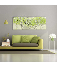 Obraz w kolorze miętowym Krajobraz w kolorze miętowym